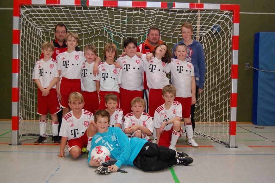 Teinehmer Hansecup E-Jugend 2001